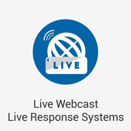Live Webcast Live Response Systems