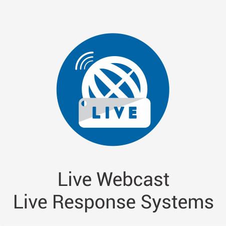 Live Webcast Live Response Systems