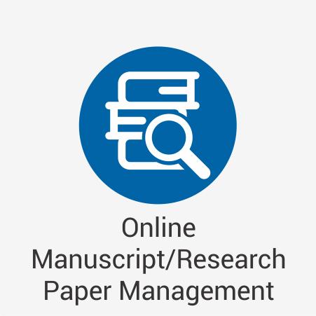 Online Manuscript/Research Paper Management