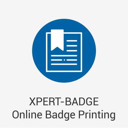 XPERT-BADGE Online Badge Printing