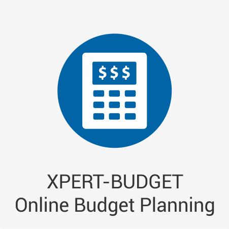 XPERT-BUDGET Online Budget Planning