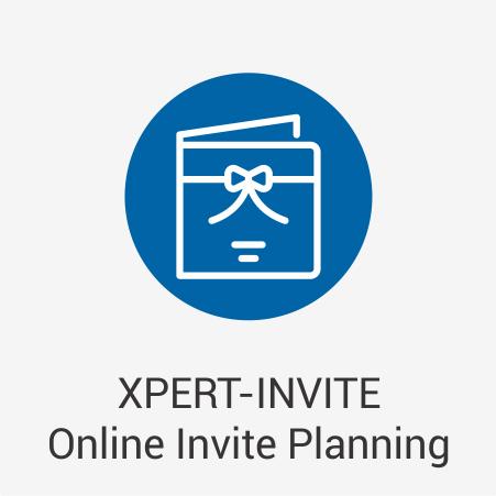 XPERT-INVITE Online Invite Planning