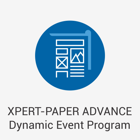 XPERT-PAPER ADVANCE Dynamic Event Program