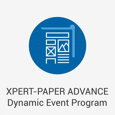 XPERT-PAPER ADVANCE Dynamic Event Program