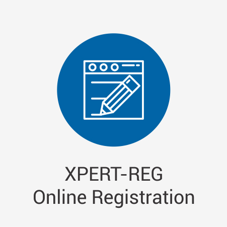 XPERT-REG Online Registration